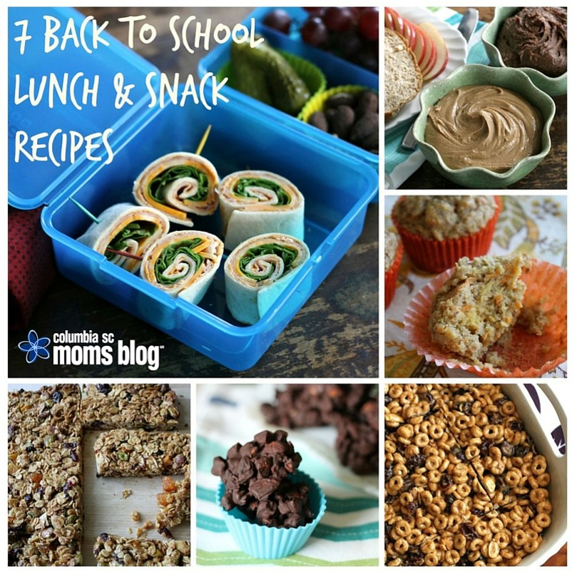 7 back to school lunch and snack recipes