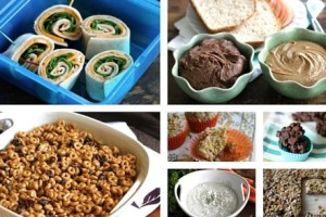 7 back to school snack and lunch recipes