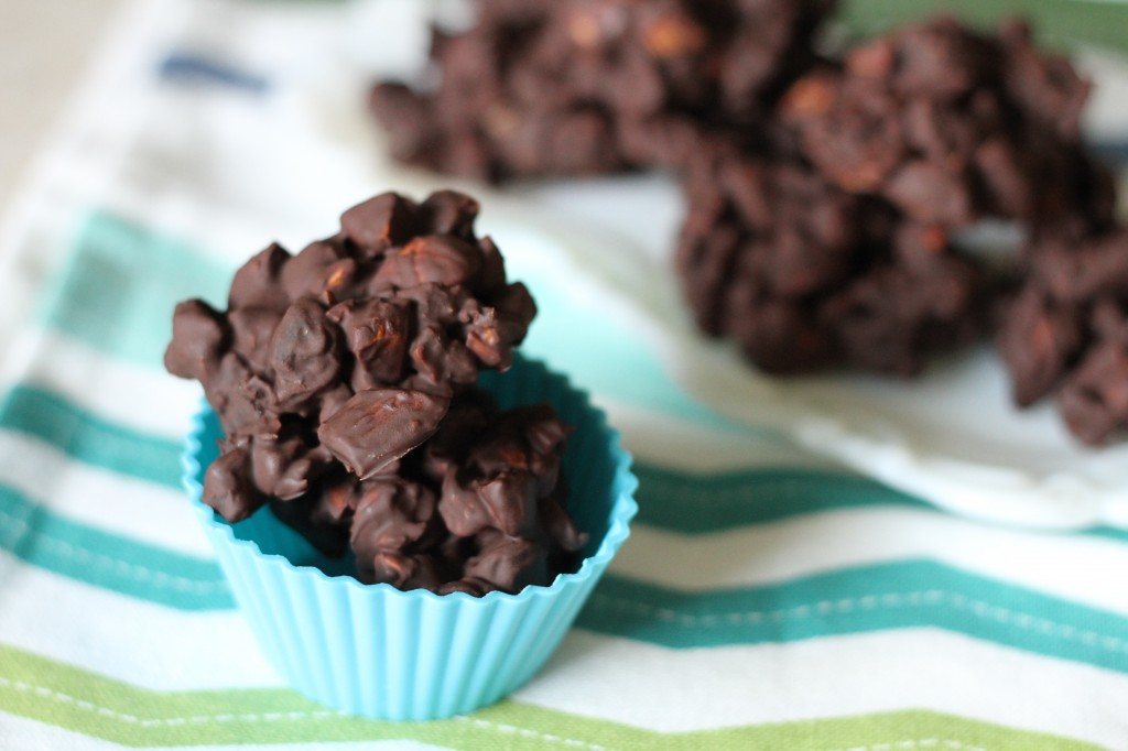 Chocolate Cherry Almond Clusters