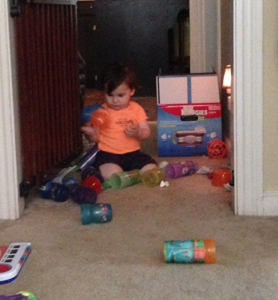 Who needs toys when I have CUPS?!