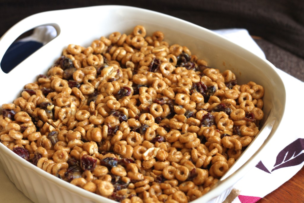 Honey Peanut Cereal Bars