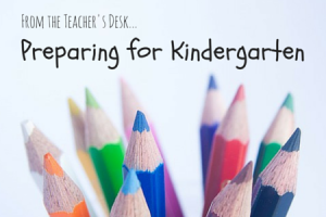 how to prepare for kindergarten