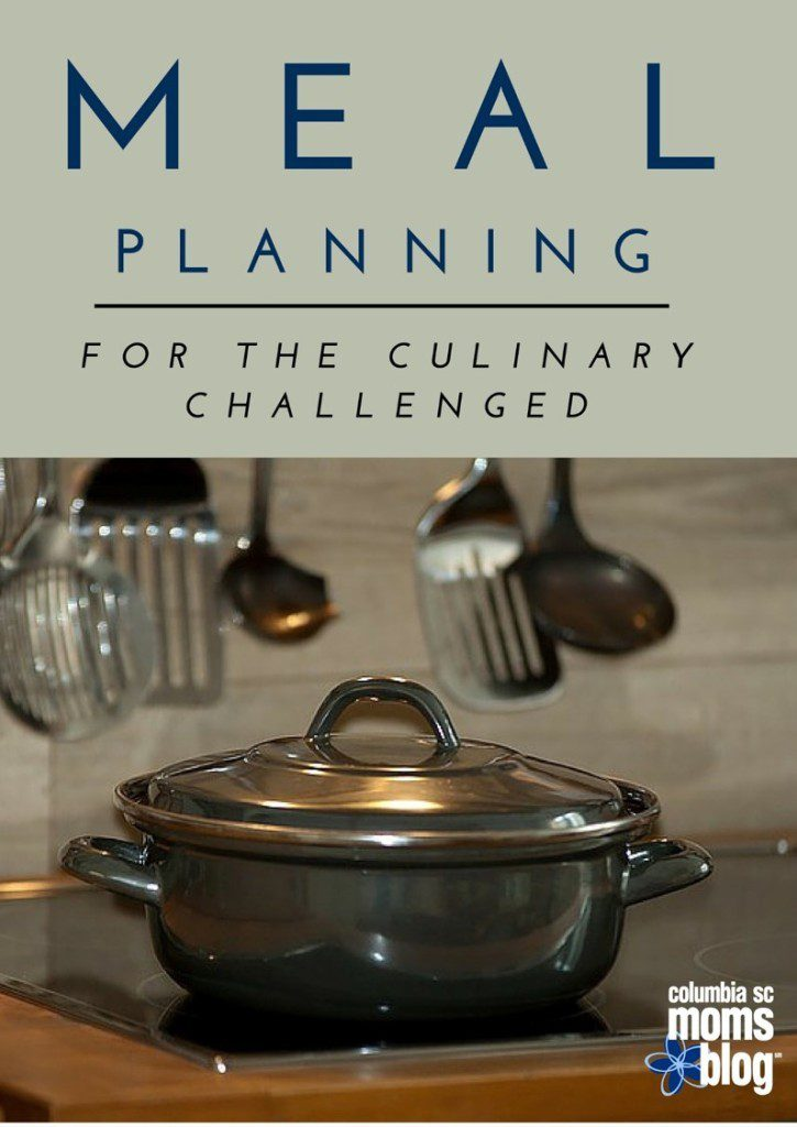meal planning for the culinary challenged