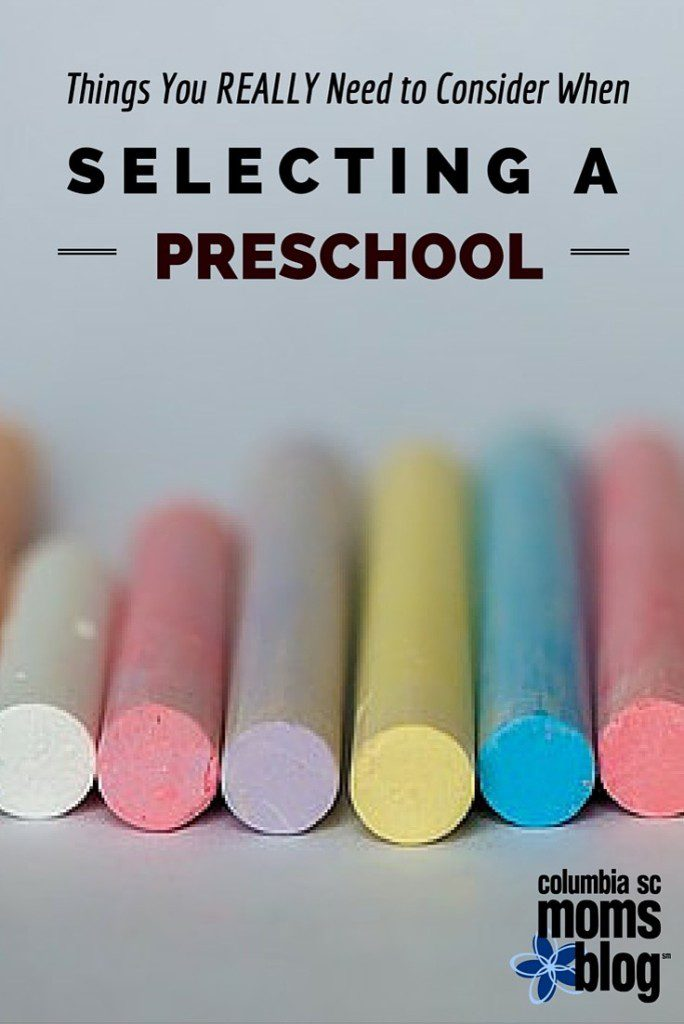 what you really need to know when selecting a preschool