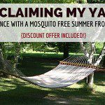 Reclaiming My Yard :: My Experience With a Mosquito Free Summer From Terminix {Discount Offer Included!}