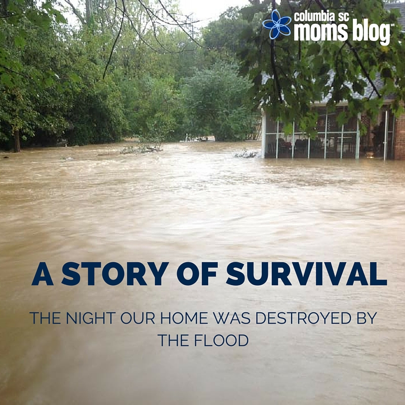A STORY OF SURVIVAL - THE NIGHT OUR HOME WAS DESTROYED BY THE FLOOD - COLUMBIA SC MOMS BLOG