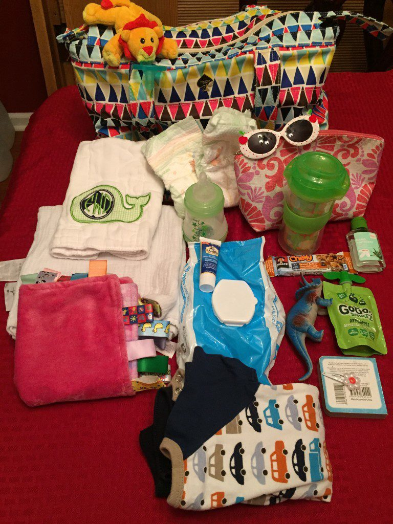 The contents of my Toddler/Infant Diaper Bag - Columbia SC Moms Blog