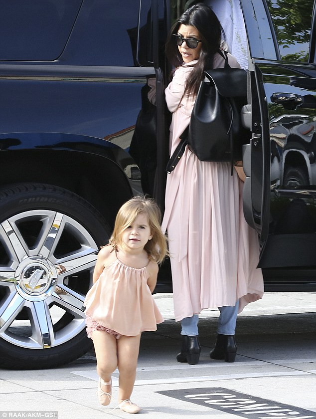 Even the famous aren't immune. Kourtney Kardashian calling for her daughter as she took off in the parking lot much like my son did. Columbia SC Moms Blog