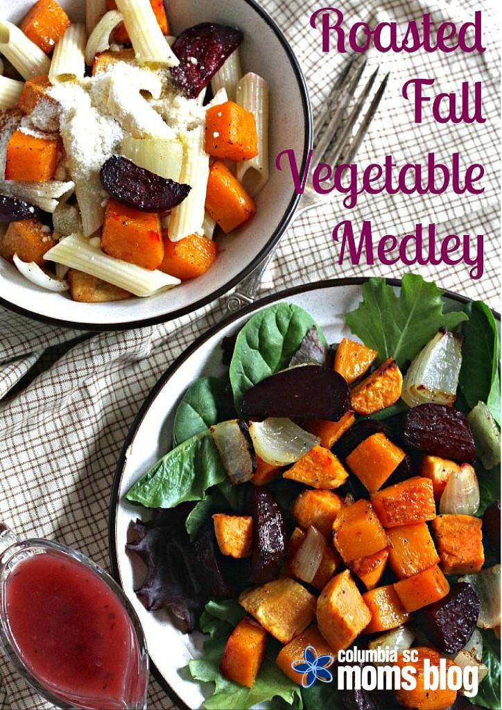 Roasted Fall Vegetable Medley - 2 ways - Columbia SC Moms Blog