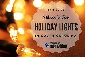 where to see holiday lights in sc - Columbia sc moms blog