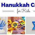 3 Hanukkah Crafts for Kids