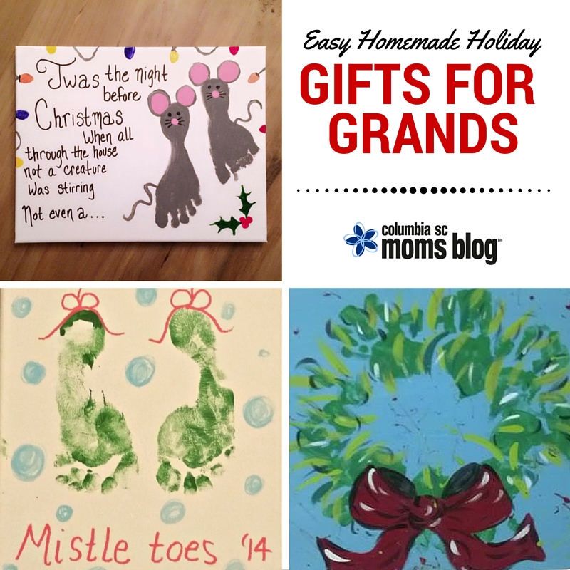 Easy Homemade Holiday Gifts for Grands - Columbia SC Moms Blog