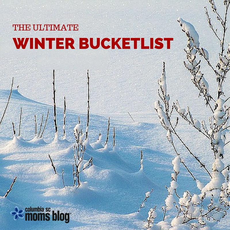 THE ULTIMATE WINTER BUCKETLIST - COLUMBIA SC MOMS BLOG