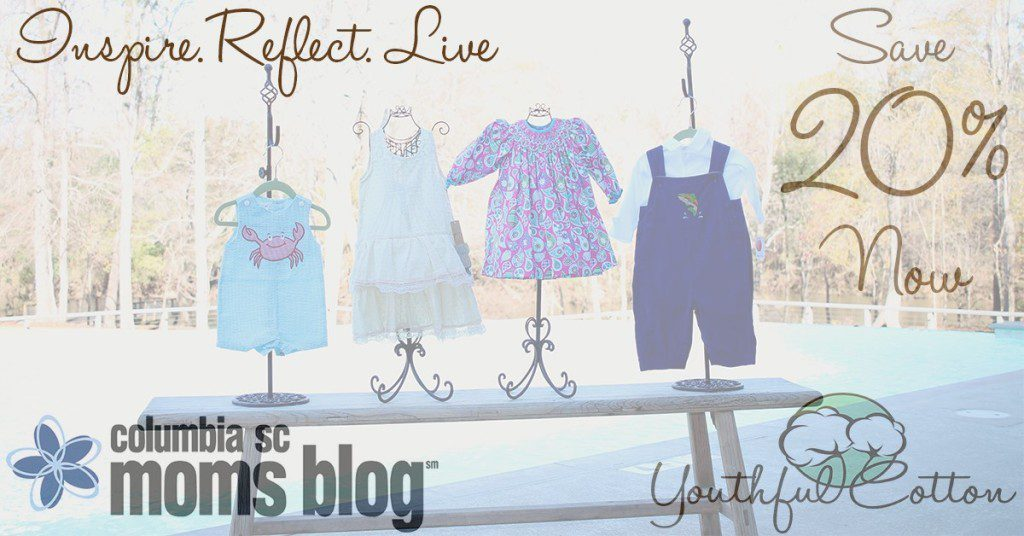 YOUTHFUL COTTON - COLUMBIA SC MOMS BLOG