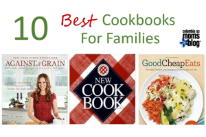 ten best cookbooks for families - Columbia SC Moms Blog