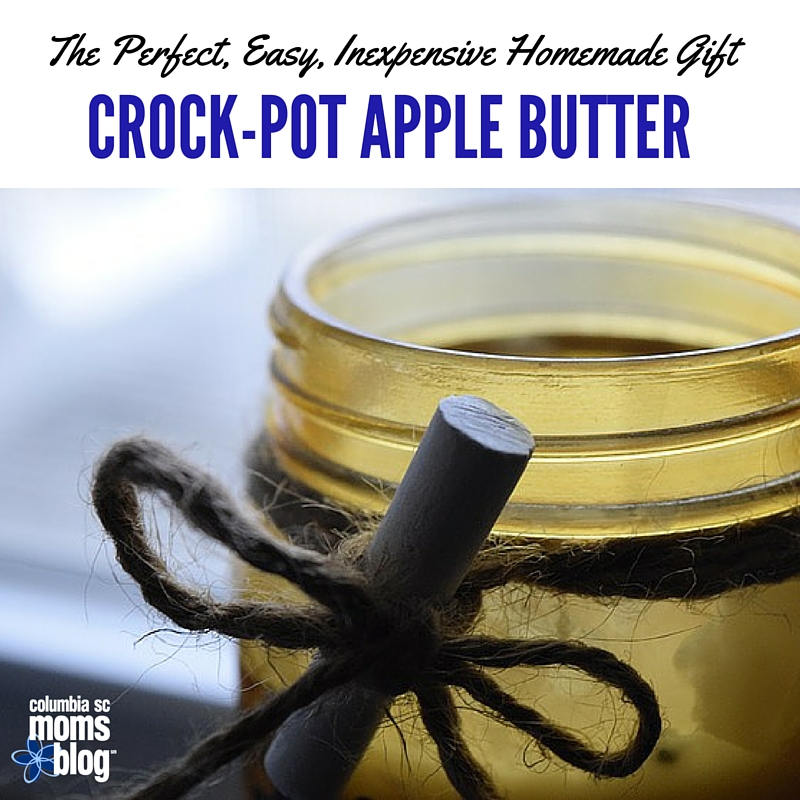 The Perfect, Easy, Inexpensive Homemade Gift :: Crock-Pot Apple Butter - Columbia SC Moms Blog