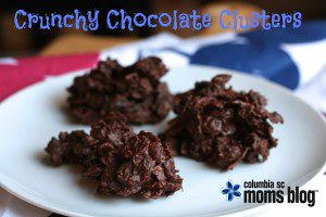 Crunchy Chocolate Clusters - Columbia SC Moms Blog