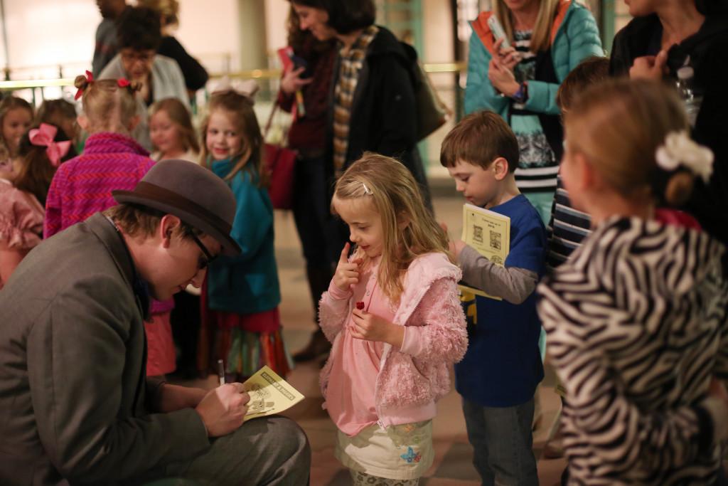 {Event Recap!} Magical Opening Night Family Event for Elephant & Piggie - Columbia SC Moms Blog - Columbia Children's Theatre