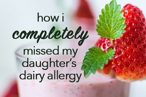 How I missed my daughter's dairy allergy - columbia sc moms blog