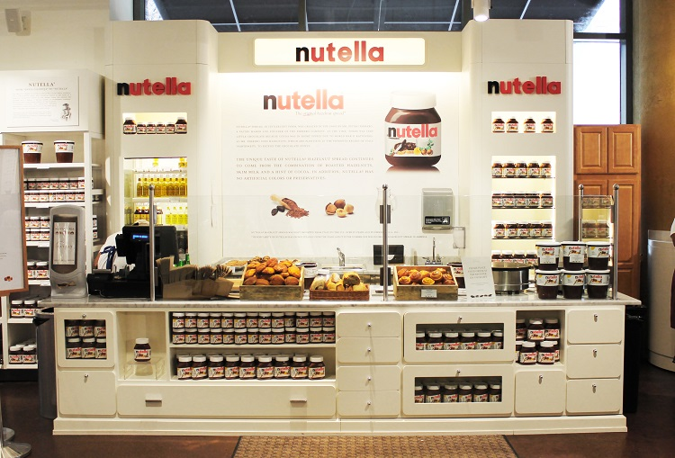 Nutella Counter - Eataly