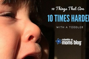 Ten Things That Are Ten Times Harder With a Toddler - Columbia SC Moms Blog