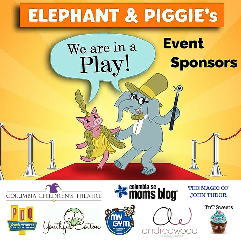 {Event Recap!} Magical Opening Night Family Event for Elephant & Piggie - Columbia SC Moms Blog - Columbia Children's Theatre