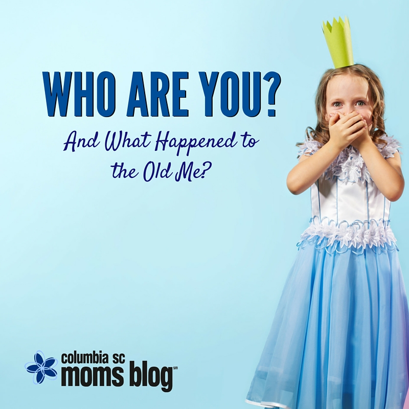 Who are you and what happened to the old me - Columbia SC Moms Blog