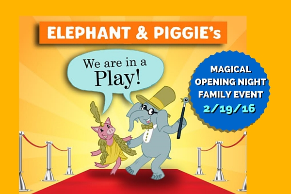 piggie and elephant opening night - columbia sc moms blog - columbia children's theatre