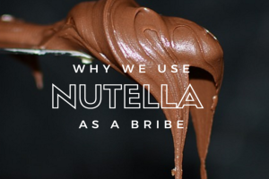 Why We Use Nutella as a Bribe - Columbia SC Moms Blog
