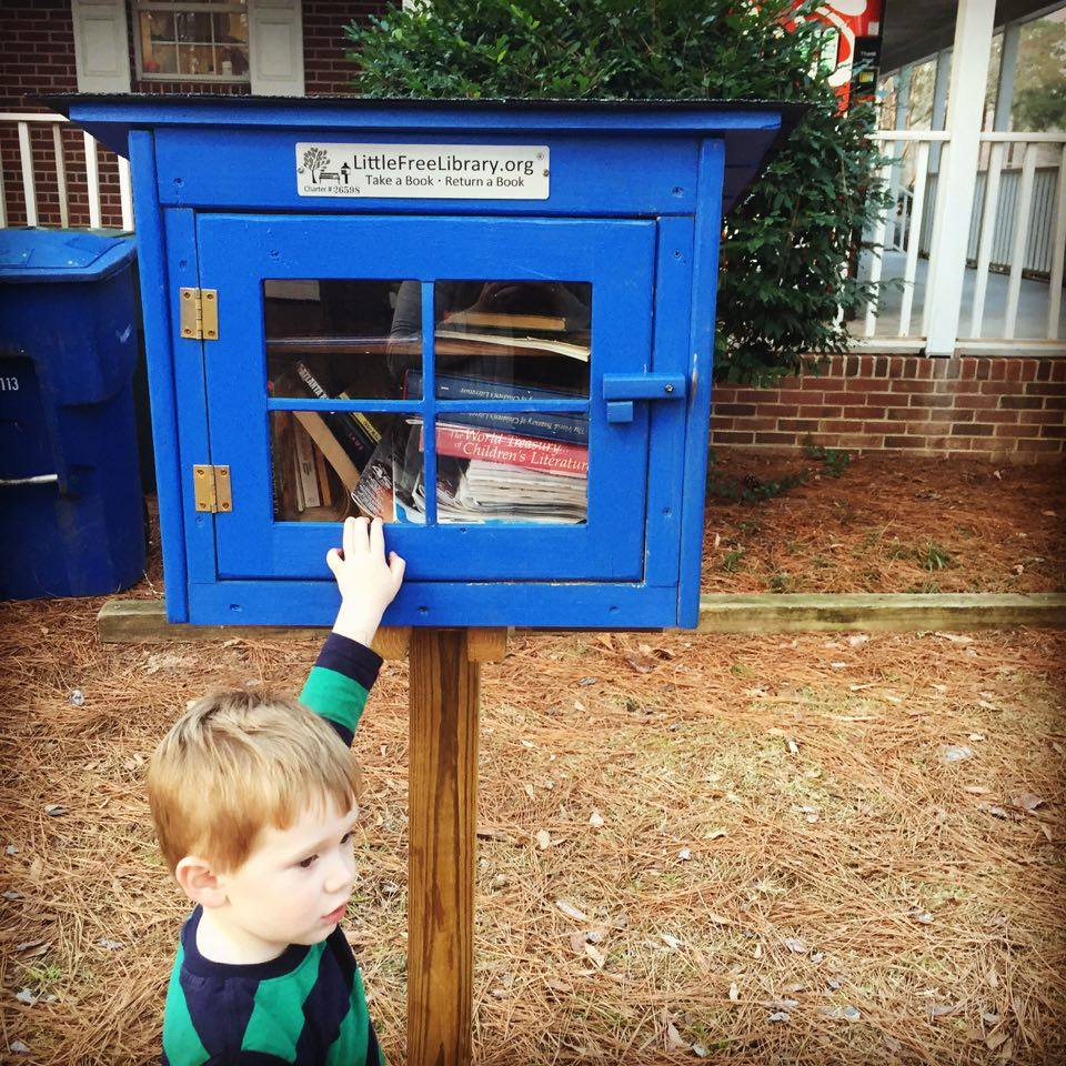 Little Free Library - Columbia SC Moms Blog