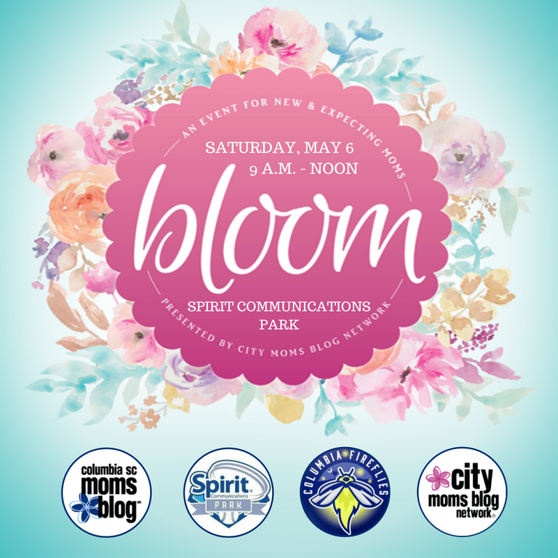 Bloom: An Event for New and Expecting Moms | Columbia SC Moms Blog