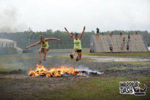 Fire Jump Warrior Dash Poconos 2013