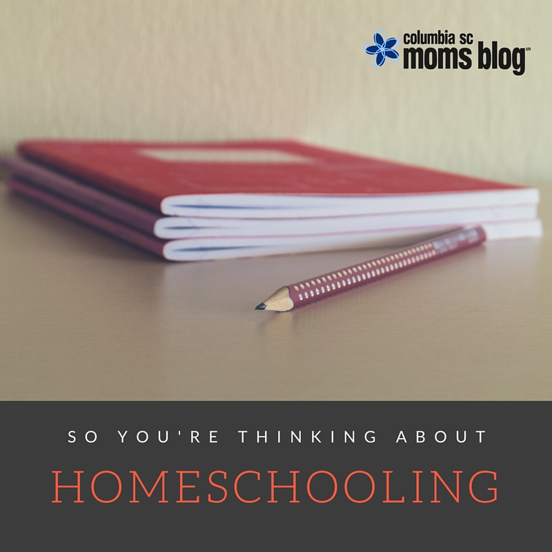 So You're Thinking About Homeschooling - Columbia SC Moms Blog