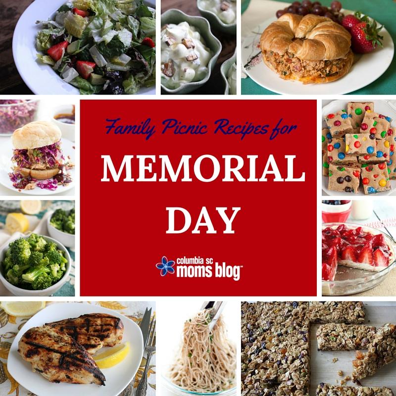 Family Picnic Recipes For Memorial Day - Columbia SC Moms Blog