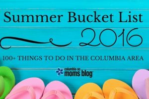 Ultimate Summer Bucket List Columbia - Columbia SC Moms Blog