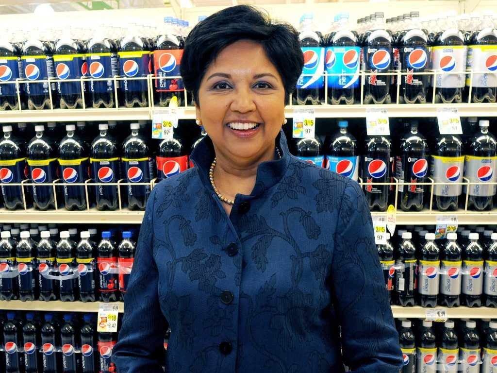 She runs Pepsi and buys milk for her children on the way home...