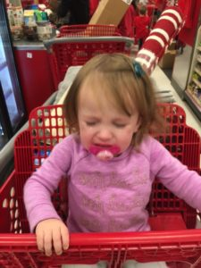 Life's Rough when you are at Target with Mom.