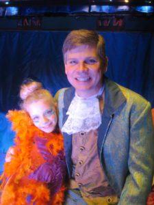 Lydia and Eric Bothur on opening night