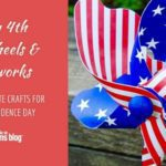 July 4th Pinwheels & Fireworks :: Last-Minute Crafts for Independence Day