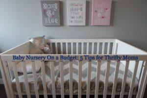 nursery on a budget