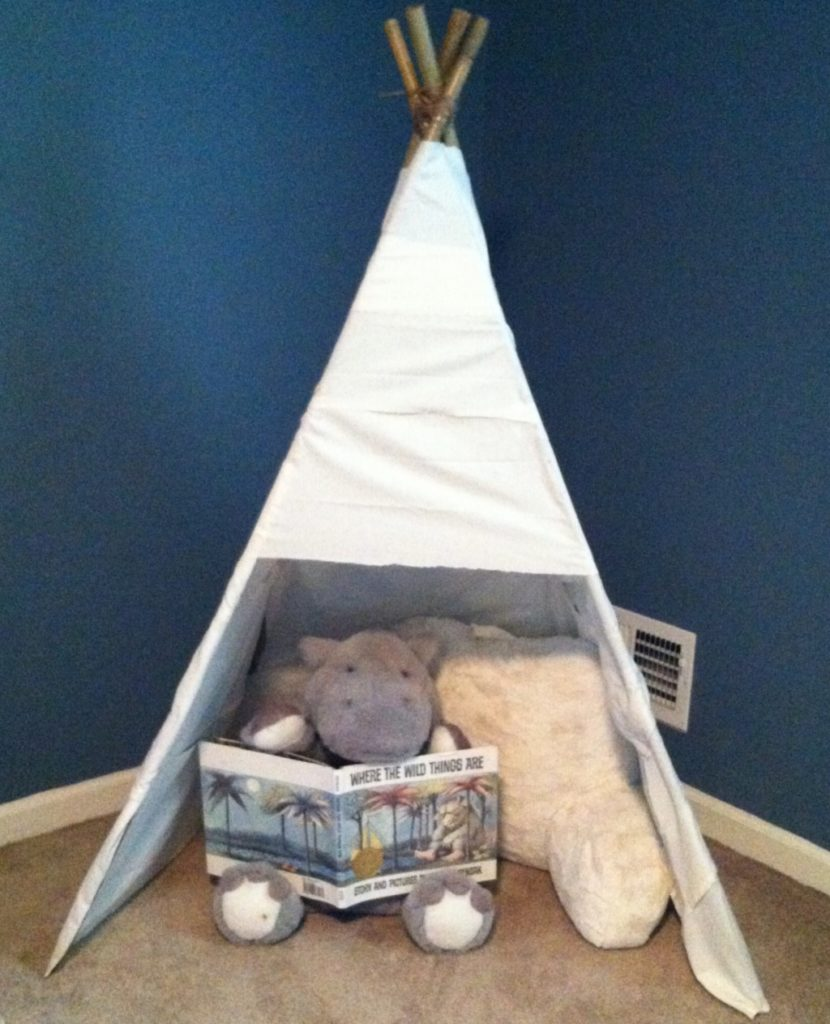 reading nook teepee