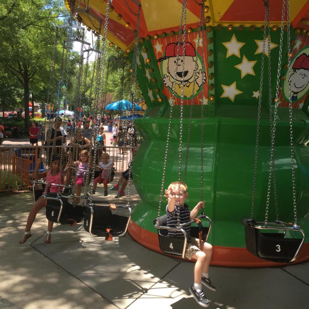 Carowinds - Charlie Brown's Windup - Columbia SC Moms Blog
