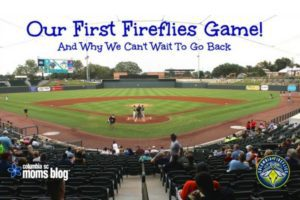 Family Adventures - Columbia Fireflies Game - Columbia SC Moms Blog