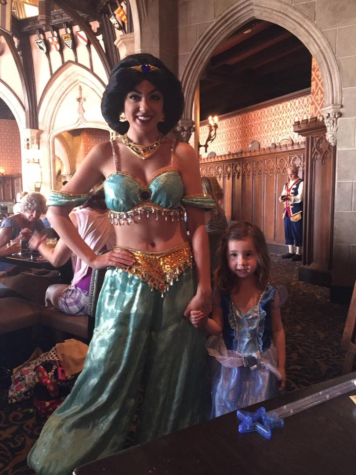 Make those dining reservations early to guarantee your little princess will get to dine in Cinderella's Castle.