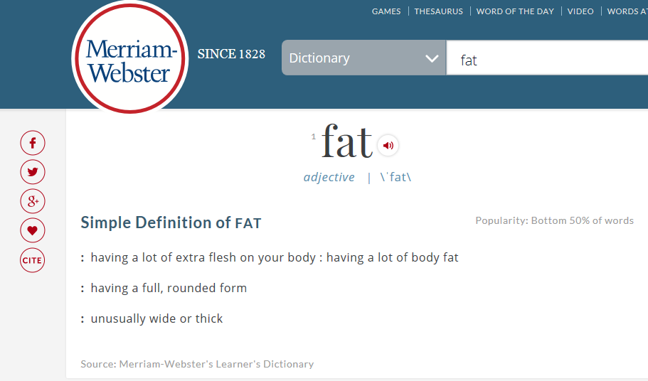 Talking With Kids About Fat     It's Not a Dirty Word