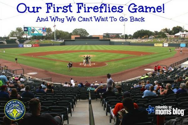 Family Adventures - Columbia Fireflies Game - Columbia SC Moms Blog