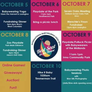 Celebrate International Babywearing Week with Fun, Local Events & More! Columbia SC Moms Blog