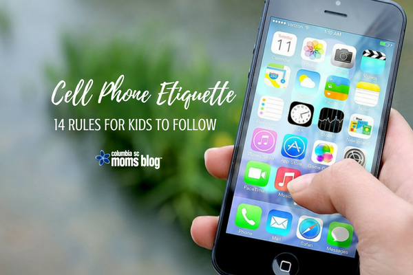 Cell Phone Etiquette -14 Rules for Kids to Follow - CSCMB