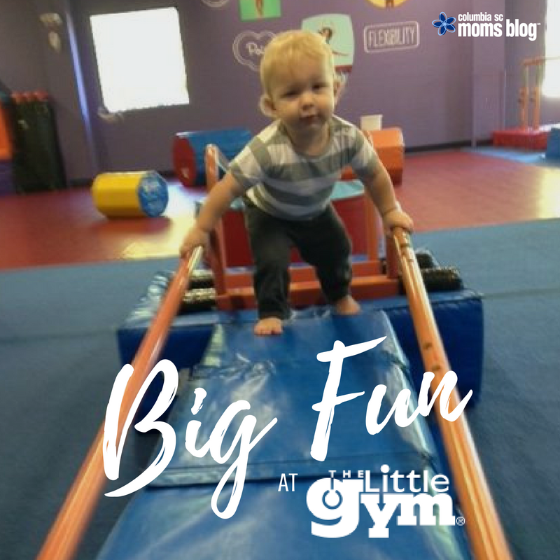 Big Fun at The Little Gym - Columbia SC Moms Blog