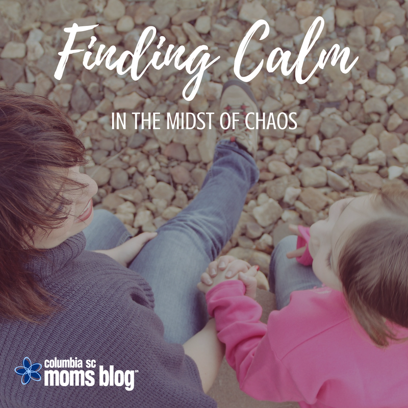 Finding Calm in the Midst of Chaos - Columbia SC Moms Blog